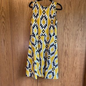 LuLaRoe XL Nicki Dress with Pockets